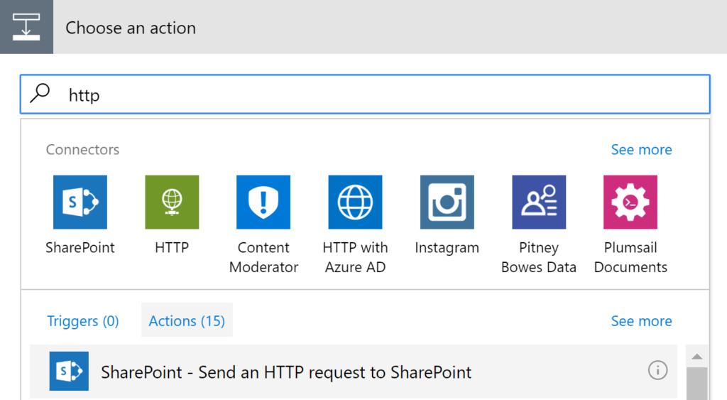 SharePoint - HTTP
