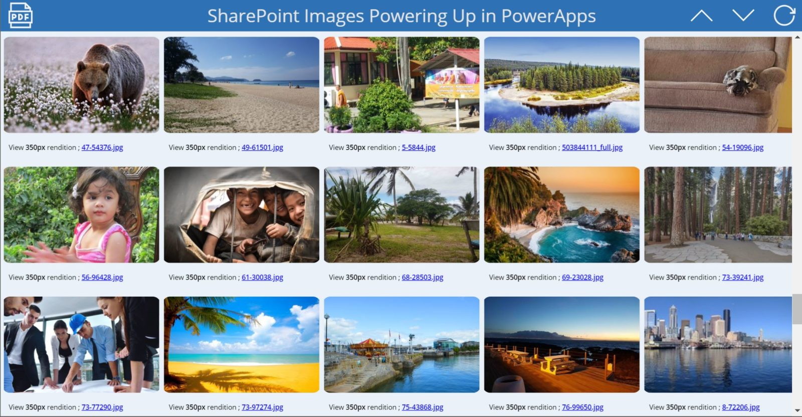Leveraging Graph APIs in PowerApps & Flow – Photos