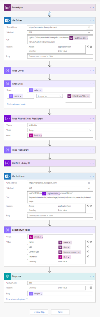 Leveraging Graph APIs in PowerApps & Flow – Photos – Master